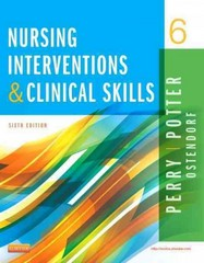 Nursing Interventions & Clinical Skills 6th Edition 9780323187947 0323187943
