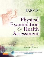 Physical Examination and Health Assessment 7th Edition 9781455728107 1455728101