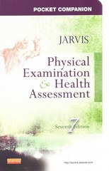 Pocket Companion for Physical Examination and Health Assessment 7th Edition 9780323265379 0323265375
