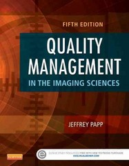 Quality Management in the Imaging Sciences 5th Edition 9780323261999 032326199X