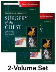 Sabiston and Spencer Surgery of the Chest 9th Edition 9780323241267 0323241263
