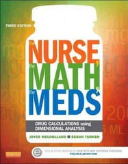 The Nurse, The Math, The Meds 3rd Edition 9780323187114 0323187110
