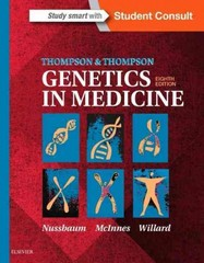Thompson & Thompson Genetics in Medicine 8th Edition 9781437706963 1437706967