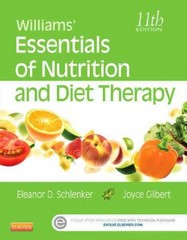 Williams' Essentials of Nutrition and Diet Therapy 11th Edition 9780323185806 0323185800