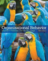 Organizational Behavior 16th Edition 9780133507645 0133507645