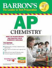 Barron's AP Chemistry 7th Edition 9781438002712 1438002718