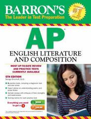 Barron's AP English Literature and Composition, 5th Edition 5th Edition 9781438002781 1438002785