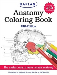 Anatomy Coloring Book 5th Edition 9781618655981 1618655981