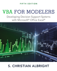 VBA for Modelers 5th Edition 9781285869612 1285869613