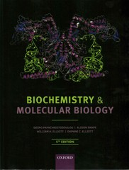 Biochemistry and Molecular Biology 5th Edition 9780199609499 0199609497