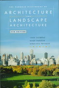 Dictionary of Architecture, The Penguin 5th edition 9780670880171 0670880175