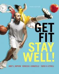 Get Fit, Stay Well! 3rd Edition 9780321933959 0321933958