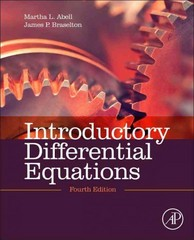 Introductory Differential Equations 4th Edition 9780124172197 0124172199