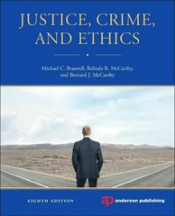 Justice, Crime, and Ethics 8th Edition 9780323262279 0323262279