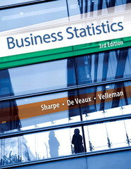 Business Statistics 3rd Edition 9780321925831 0321925831
