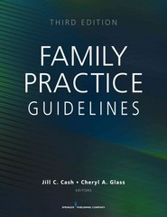 Family Practice Guidelines, Third Edition 3rd Edition 9780826168757 0826168752
