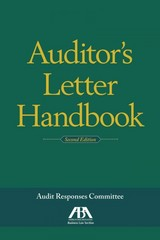 Auditor's Letter Handbook 2nd Edition 9781614389736 161438973X