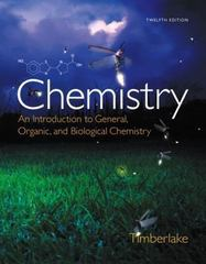 Chemistry 12th Edition 9780321908445 0321908449