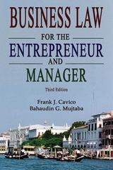 Business Law for the Entrepreneur and Manager 3rd Edition 9781936237104 1936237105