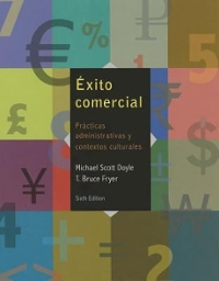 Exito comercial (Book Only) 6th Edition 9781285737447 128573744X