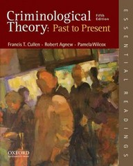 Criminological Theory 5th Edition 9780199301119 0199301115