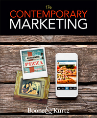 Contemporary Marketing 17th Edition 9781305075368 1305075366