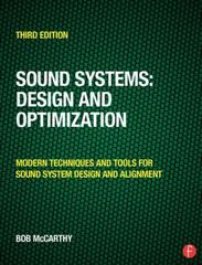 Sound Systems: Design and Optimization 3rd Edition 9781317911098 1317911091