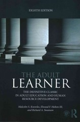 The Adult Learner 8th Edition 9781317812180 1317812182