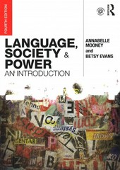Language, Society and Power 4th Edition 9780415740005 0415740002