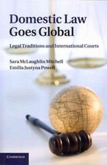 Domestic Law Goes Global 1st Edition 9781107661677 1107661676