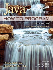 Java How To Program (late objects) 10th Edition 9780132575652 0132575655