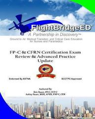 FlightBridgeED, LLC - FP-C/CFRN Certification Review and Advanced Practice Update 2nd Edition 9781492168553 1492168556
