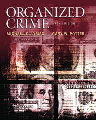 Organized Crime 6th Edition 9780133571738 0133571734
