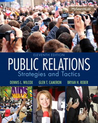 Public Relations 11th Edition 9780205960644 0205960642