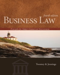 Business Law 4th Edition 9781285657554 1285657551