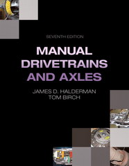 Manual Drivetrains and Axles 7th Edition 9780133515657 0133515656