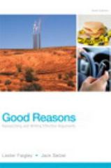 Good Reasons 6th Edition 9780321906748 0321906748