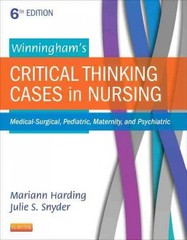 Winningham's Critical Thinking Cases in Nursing 6th Edition 9780323289610 0323289614
