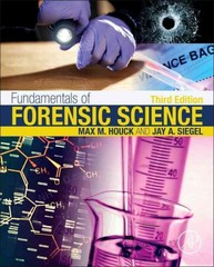 Fundamentals of Forensic Science 3rd Edition 9780128000373 0128000376