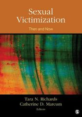 Sexual Victimization 1st Edition 9781483308173 1483308170