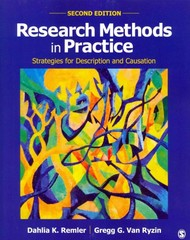 Research Methods in Practice 2nd Edition 9781452276403 1452276404