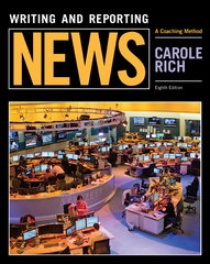Writing and Reporting News 8th Edition 9781305077331 1305077334