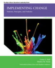Implementing Change 4th Edition 9780133351927 0133351920