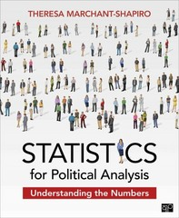 Statistics for Political Analysis 1st Edition 9781452258652 1452258651