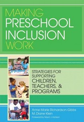 Making Preschool Inclusion Work 1st Edition 9781598572117 1598572113