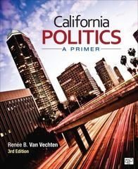 California Politics 3rd Edition 9781483340135 1483340139