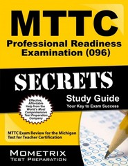 MTTC Professional Readiness Examination (096) Secrets Study Guide 1st Edition 9781627337984 1627337989