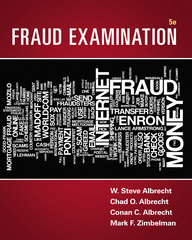 Fraud Examination 5th Edition 9781305079144 1305079140