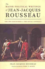 The Major Political Writings of Jean-Jacques Rousseau 1st Edition 9780226151311 022615131X