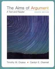 Aims of Argument: Text & Reader 8th Edition 9780077592233 0077592239